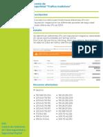 IDSOC-SDM-0064-Tráfico malicioso aprobado