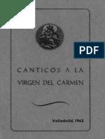 CANTICOS A LA VIRGEN DEL CARMEN. Valladoüd, 1962