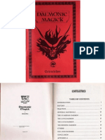 Daemonic Magick