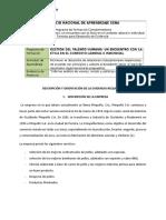 RAP1_EV04- Informe análisis de valores, misión y políticas organizacionales