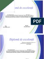 diploma -Ziua Educatiei