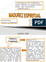 MADUREZ ESPIRITUAL