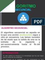 ALGORITMO SECUNCIAL