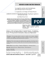 La Licencia Sabática en El Código de Trabajo Francés - Autor José María Pacori Cari