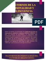 TRASTORNOS DE LA PERSONALIDAD Y DELINCUENCIAA