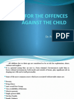CAUSES of OFFENCE AGAINST CHILD