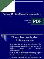 Montaje Mesa instrumental.ppt