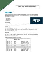 BSNL 4G Plus work process