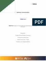 Tarea 3 - Business Communcation