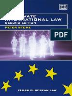 Stone p Eu Private International Law Harmonization of Laws e