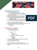 (3) Anemia Ferropénica y Anemia Crónica
