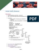 (4) Deficiencia de Ácido Fólico y Cobalamina