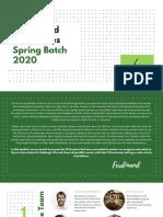 Graduated Companies Spring Batch 2020
