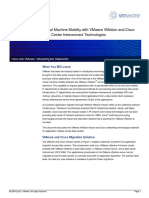 Virtual Machine Mobility with VMware VMotion and Cisco Data Center Interconnect Technologies