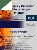 Pedagogia Por Internet y Discusion