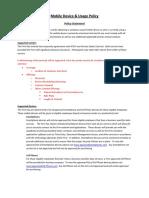 MRW1-Generic Wireless Policy