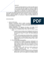 Resumen Exp. Nº 02534-2019-PHC/TC