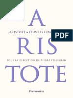 Aristote - Œuvres complètes