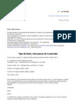 Guida al C - Tipi di Dati, Istruzioni di controllo