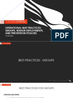 CrowdStrike Operational Best Practices - Groups Sensor Deployments and Prevention Policies II