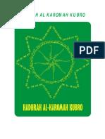 HADRAH AL KAROMAH KUBRO edisi KEILMUAN HK2 EVO.pdf