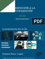 INTRODUCCION A LA PROGRAMACION PIT 2020