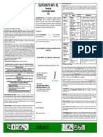 resolucion glifosato etiqueta