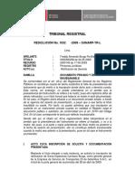TR Resol 1032-2009