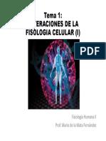 Tema 1. Alteraciones de la fisiología celular I [Modo de compatibilidad]