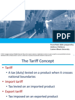 Chapter 4 Tariffs