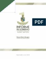 1er Informe de Gobierno Cajeme 2009-2012