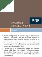 Session 3 Product Development