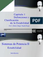 Estabilidad Definición y Clasificación 1 y 2
