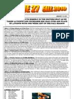 League 27 Newsletter Volume 3 Issue 19