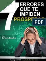 7 Errores Te Impiden Prosperar