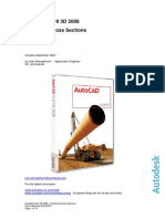 AutoCAD Civil 3D 2008 - Enhanced Cross Sections