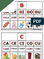 alfabeto silábico ilustrado
