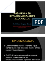 Anestesia en  Revascularizacion Miocardica