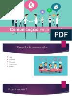 Comunicação Empresarial - o que é