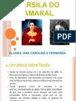TRABALHO DO TARCILA DO AMARAL