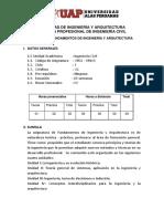 FUNDAMENTOS DE INGENIERÍA Y ARQUITECTURA