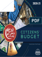 Punjab Budget 2020-21 Highlights English