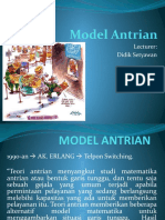Meet # 12 MODEL ANTRIAN