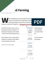Enlightened Farming