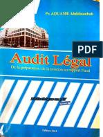 Audit Légal de La Préparation de La Mission Au Rapport Final