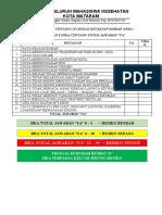Form penilaian resiko covid-19