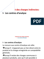 methode des centres d'analyse