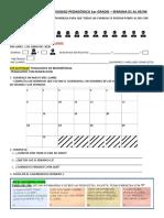 Continuidad pedagógica 1er Grado - Semana del 01 al 05-06 2020