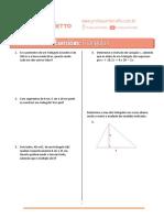 03 - Triângulos (Enem) - Exercicios