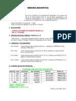 MD PARCELA A-15 PAREDES